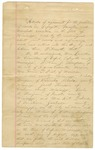 Land Deed, heirs of William Thompson